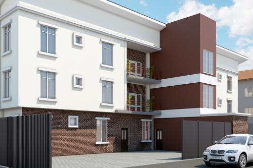6 Unit Apartment at Southern View Estate 2nd Toll Gate by Chevron, Lekki